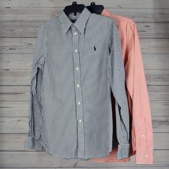 64b116534 ... POLO RALPH LAUREN Striped Blouses Shirts. M_5b392eb1a5d7c648d0eadbb6